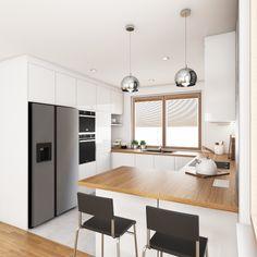 Kitchen Dinning, Home Decor Kitchen, Kitchen Furniture, New Kitchen, Home Kitchens, Simple Kitchen Design, Kitchen Pantry Design, Interior Design Kitchen, Cuisines Design