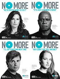 NWCAVE is  a proud partner of No More Campaign by the Joyful Heart Foundation.  Visit them at www.nomore.org