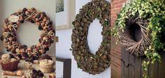 10 tolle DIY Ideen für wunderschöne Kränze im Herbststil!