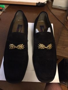 e9f8e747b7d6 Black Suede - LEOPARD head Fratelli PSF Leather Upper Loafer. MENS 10M  Shoes  fashion  clothing  shoes  accessories  mensshoes  casualshoes (ebay  link)