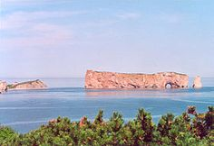 Perce Rock - In the Gaspe region of Quebec.