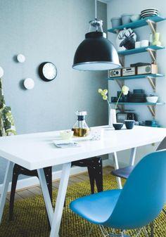 Jurnal de design interior  Amenajare în albastru
