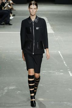 Alexander Wang - Spring 2013 Ready-to-Wear - Look 1 of 46