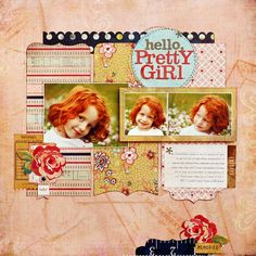 *Hello, Pretty Girl* NEW BasicGrey LUCILLE - Scrapbook.com