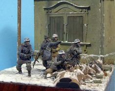 Outskirts of Kharkov | Dioramas and Vignettes | Gallery on Diorama.ru
