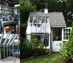 Creative of Potting Shed Design Fro Attractive Look and 14 Whimsical Garden Shed Designs Storage Shed Plans Pictures 14977 is among photos of Home Decor id Garden Buildings, Garden Structures, Verge, Backyard Sheds, Garden Sheds, Backyard Retreat, Backyard Studio, Backyard Storage, Garden Studio