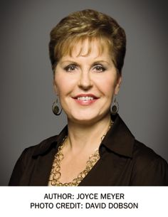 Joyce Meyer, author of Power Thoughts, Battlefield of the Mind, Do Yourself a Favor... Forgive, and more.