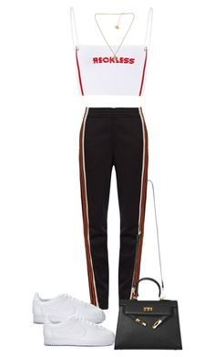 """""""Untitled #4408"""" by theeuropeancloset ❤ liked on Polyvore featuring Wales Bonner and NIKE"""