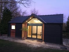 Beautiful Bespoke Timber frame Design and Build, including extensions, garden offices, studios and new builds. Sips Panels, Building Extension, Summer House Garden, Cedar Cladding, Raised Patio, London Garden, Planning Permission, Garden Studio, Garden Office
