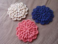 ぽこぽこコースター♪の作り方 編み物 編み物・手芸・ソーイング 作品カテゴリ アトリエ