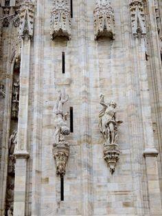 duomo sculptures italie