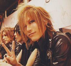 Uruha (with Ruki and Kai) the GazettE