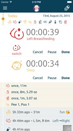 Easiest nursing, breastfeeding app in the world. BabyLine - Nursing, Breastfeeding, Timer & Activities Tracker