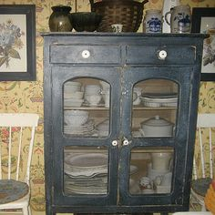 Antique Pie Safe #pie safe #kitchen #furniture