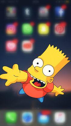 #simpson #homero #wallpapersimpson #lisa #bart Iphone, Wallpaper S, Bart Simpson, Lisa, Character, The Simpsons, Wallpapers, Wall Papers, Lettering