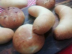 Najlepšie domáce celozrnné kváskové žemle, RECEPT z kvásku Hamburger, Potatoes, Bread, Vegetables, Fitness, Basket, Potato, Brot, Vegetable Recipes