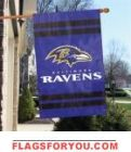 Baltimore Ravens Applique Banner x Ravens Home, House Flags, Baltimore Ravens, Applique, Banner, Baseball Cards, Banner Stands, Banners