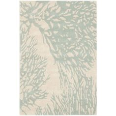 Found it at Joss & Main - Norah Blue Floral Wool Hand-Tufted Area Rug