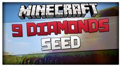 Minecraft Seed - 9 Diamonds at Spawn in Desert Pyramid Seed (For m. Minecraft Seed, Minecraft Mods, Desert Biome, Biomes, Spawn, Deserts, Seeds, Diamonds, Postres