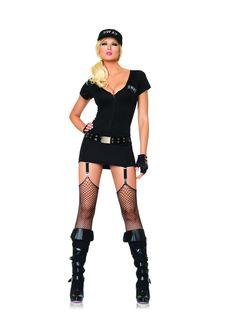Sexy SWAT Commander Costume.  simonsaysdressup.co.uk