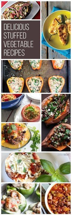 You have to try these stuffed vegetable recipes. You're going to love these easy dishes.