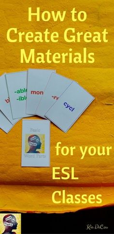 The First 4 Things I Teach my ESL Students about Pronunciation