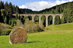 Chmarošský viadukt_archit.skvost-Telgart Prague, Czech Republic, All Over The World, Bridges, Towers, Folk, Landscapes, Destinations, Culture