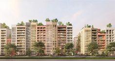 Logements ZAC Girondins – Lyon, ecdm - BETA