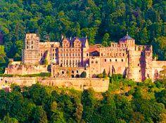Schloss Heidelberg, Heidelberg, Germany, German castles