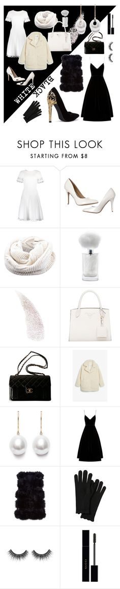 """""""WHICH IS WHICH?"""" by kenanidhyaip on Polyvore featuring Oscar de la Renta, Chanel, Monki and Gucci"""