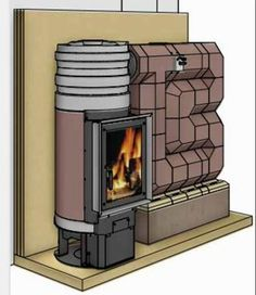 Ortner inside Stove Heater, Stove Oven, Home Rocket, Rocket Mass Heater, Wood Fuel, Kitchen Oven, Stove Fireplace, Wood Fired Oven, Rocket Stoves