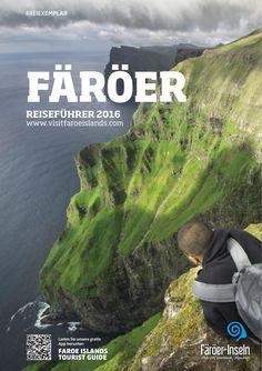 FÄRÖER - REISEFÜHRER 2016  Wenn auch klein und etwas abgelegen, sind die Färöer doch voller einzigartiger und echter Abenteuermöglichkeiten, für welchen Besucher auch immer. Der Archipel ist ein farbenfroher und wirklich erstaunlicher Ort. Die färöische Natur, stets sehr nah, fordert immer dazu heraus, sie zu Wasser oder zu Lande zu erkunden. Es braucht nur die Bereitschaft sich ihr zu öffnen, um Erfahrungen für das ganze Leben zu machen. Die Verkehrsämter auf den verschiedenen Inseln…