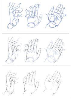 Как рисовать кисти рук