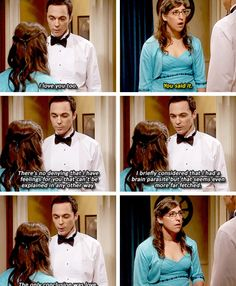 Sheldon loves Amy! #TBBT
