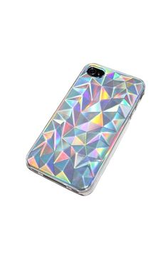 I like this case because it is metallic, shiny, and 3D looking. It caught my eye. [feminine case]
