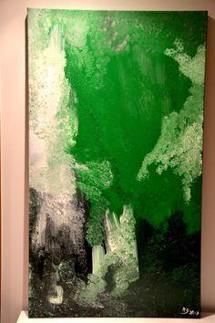 Nature Acrylic on canvas 140cm x 80cm