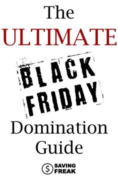 913dea42b7 Learn all the ins and outs of shopping with this amazing Black Friday guide  for shopping