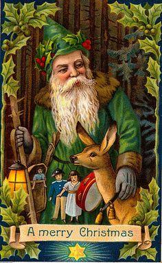Woodland Santa Claus