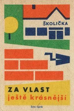 czechoslovakian matchbox label   OldBrochures.com