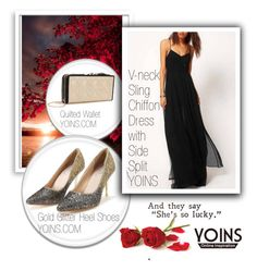 """YOINS 8/10/4"" by melisa-hasic ❤ liked on Polyvore featuring Bomedo, women's clothing, women's fashion, women, female, woman, misses, juniors, yoins and loveyoins"