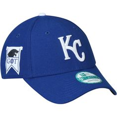 reputable site 2600c 34282 Men s Kansas City Royals New Era Royal Game of Thrones 9FORTY Adjustable Hat,  Your