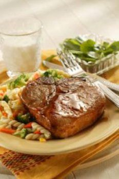 """Honey-Glazed Pork Chops 