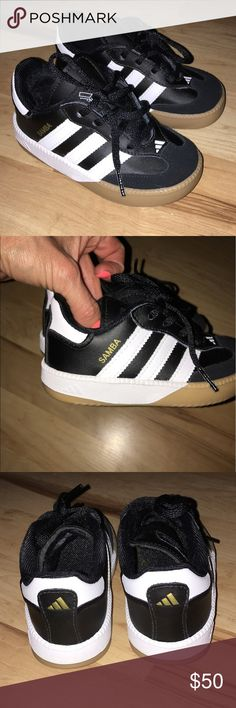 white adidas samba classic toddler