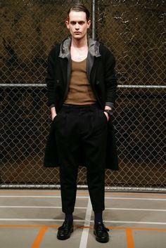 Robert Geller Fall 2015 Menswear Fashion Show
