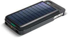 Eton Mobius iPhone Solar Charger.
