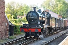 S&D 7F steam locomotive for long term move to the North Norfolk Railway