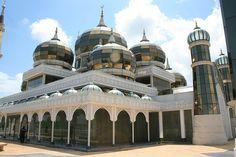 Best Travel Photos / Crystal Mosque (Masjid Kristal) Kuala Terengganu, Terengganu, Malaysia #travel #world #photo