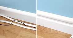 Creative Ideas: Hide wires with decorative trunking / raceways