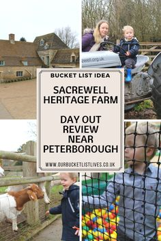 Sacrewell Heritage Farm. Day out review. Farm Park near Peterborough. Family travel blog review. #family #familytravel #travel #dayout