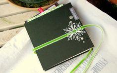 papierwerkstatt Dezember-Kit 2013: Tag-Book (geschlossen)